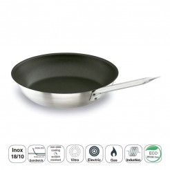 Frigideira Chef-Inox Plus Fundo Sanduíche Inox