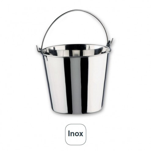 Balde Inox 18% De Cr.