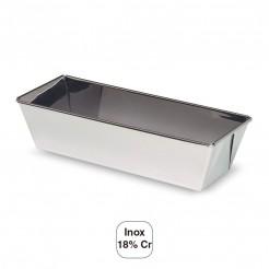 Molde Bolo Liso Inox 18% De Cr.