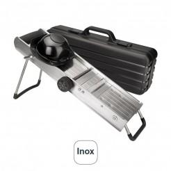 Bandolim Inox com Protetor e Lâminas Giratórias