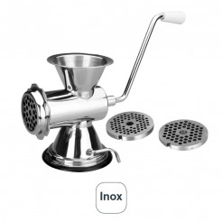 Moedor de Carne Manual Inox