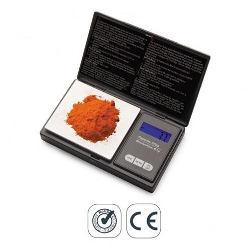 Balança de Precisão de Bolso 650 g