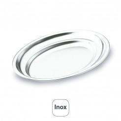 Fonte Oval Inox 18% De Cr.