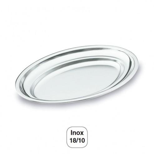 Fonte Oval Polimento Acetinado Inox 18/10