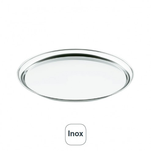 Bandeja De Garçom Inox 18% De Cr.
