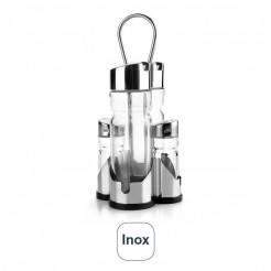 Jogo De Galheteiro Basic Inox