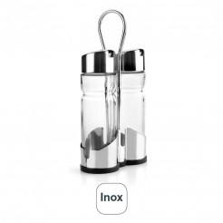Jogo De Óleos-Galheteiro Basic Inox