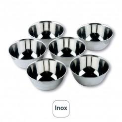 Set 6 D Pequenos Inox