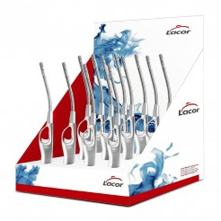 Caixa Display 12 Isqueiros de Gás Cano Flexível
