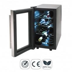 Armário Refrigerador Elétrico 25 l/70 W - 8 Garrafas Inox Line