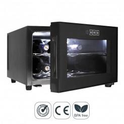 Armário Refrigerador Elétrico 23 l/50 W - 8 Garrafas de Black Line