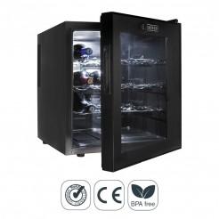 Armário Refrigerador Elétrico 46 l/70 W - 16 Garrafas Black Line