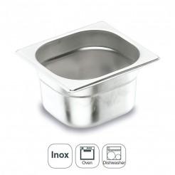 Balde Inox Aisi 200 Gastronorm 1/6