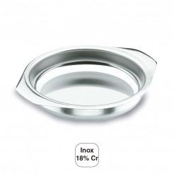 Prato de Ovos, em Inox, 18% de Cr.