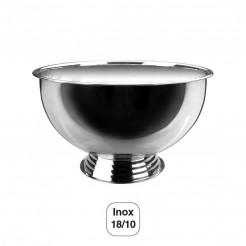 Arrefece-Champanhe Semiesférico com Base Inox 18/10