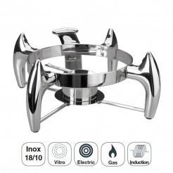 Suporte Chafing Dish Luxe Sopa Inox