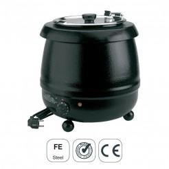 Panela Calefator Elétrico Sopa Ferro Esmaltado