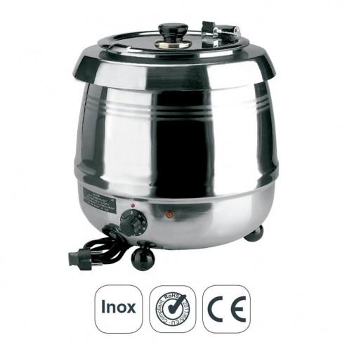 Panela Calefator Elétrico Sopa Inox