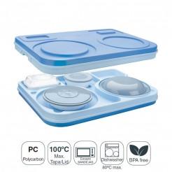 Kit Completo, Caixa Isotérmica B-1 + 6 Peças