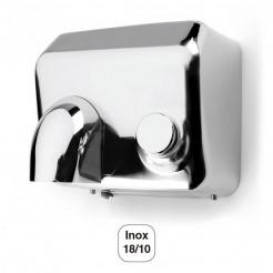 Secador de Mãos Elétrico com Botão de pressão