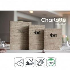 Portamenú Charlotte
