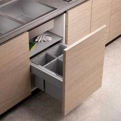 Cubo Reciclagem De Lixo Concept 560 Altura 298