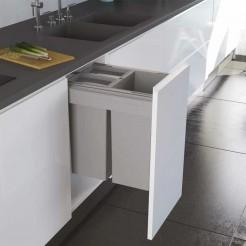 Cubo Reciclagem De Lixo Concept 560 Altura 463