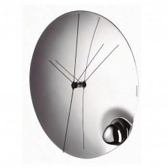 Relógio de Parede 32 cm Aço Inoxidável Acqua