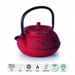 Chá Ferro Fundido 0,25 L Vermelha