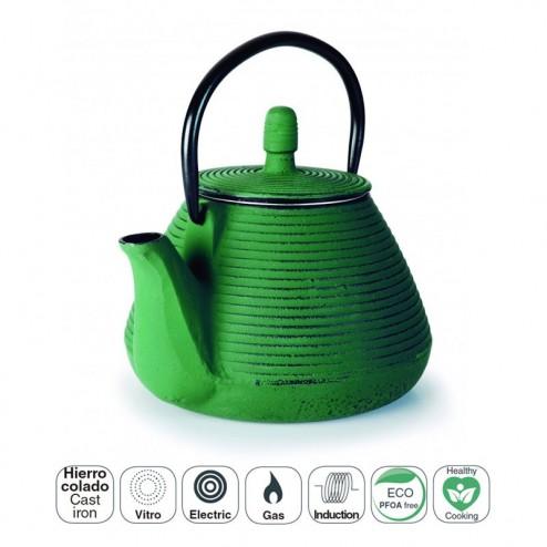 Chá Ferro Fundido 0,8 L Verde