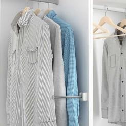 Protetor de Mangas/Suporte para roupas para o Armário ou Closet