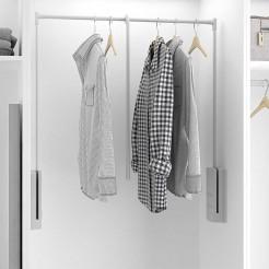 Elevador roupa dobrável B roupeiro armário