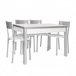 Conjunto Mesa Lovy + 4 Cadeiras Chip