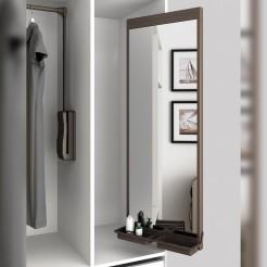 Espelho Removível Interior Armário Moka